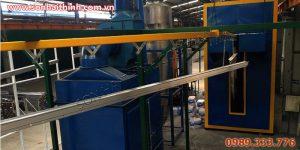 Hệ thống dây chuyền sơn tĩnh điện cải thiện kinh doanh