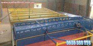 Gia công tĩnh điện xử lý bề mặt rất quan trọng